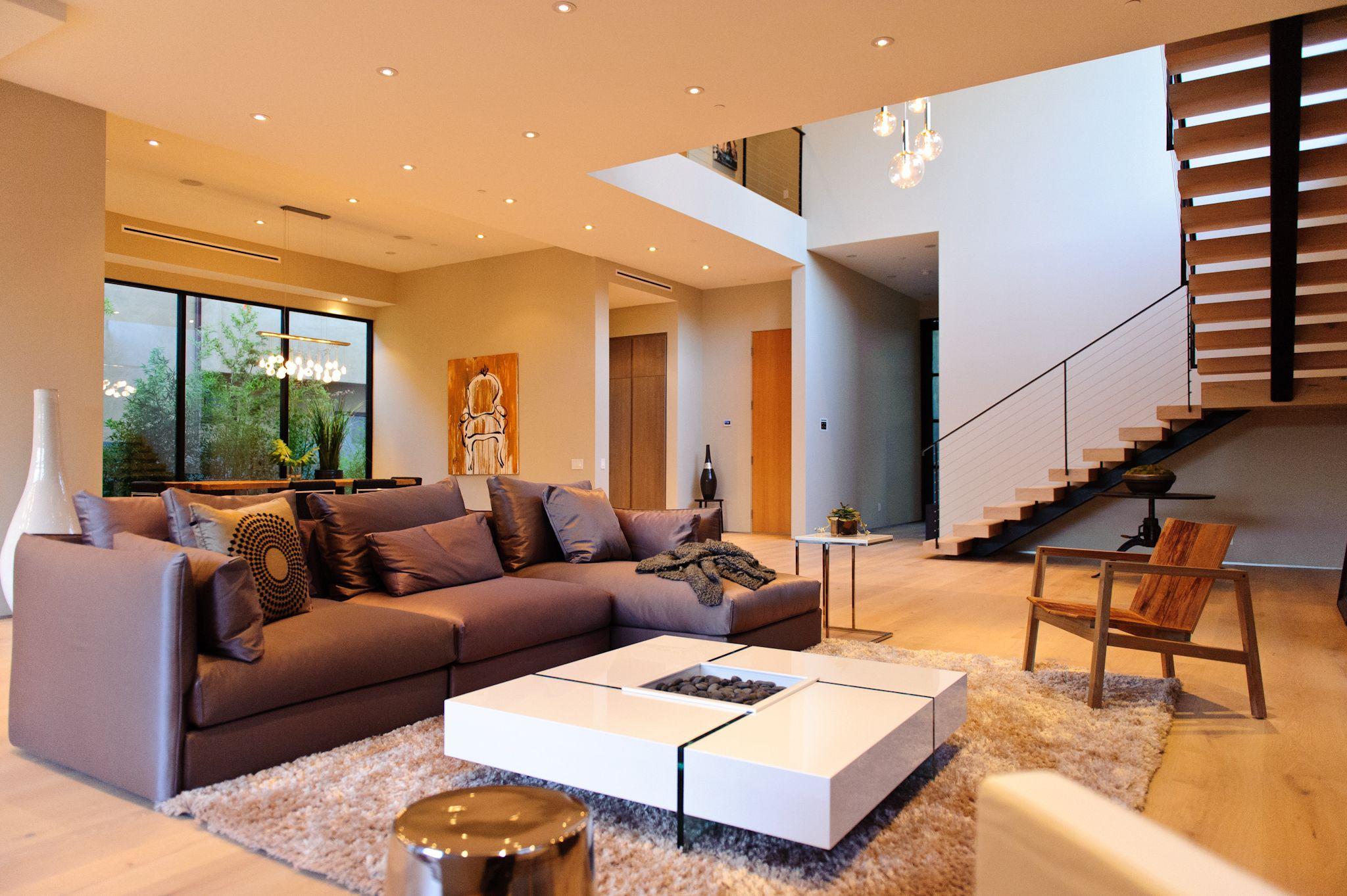 Prime Five Homes - Modern Living Room www.primefivehomes.com