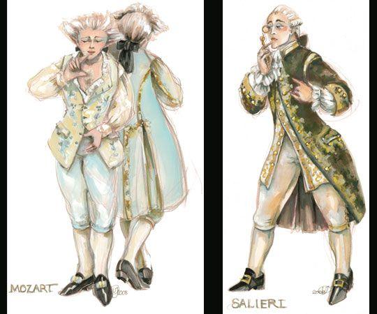 Virgil C Johnson Costume Design Amadeus Amadeus Costumes Movie Costumes