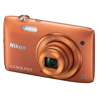 Nikon COOLPIX S3500 20MP Digital Camera with 7x Optical Zoom
