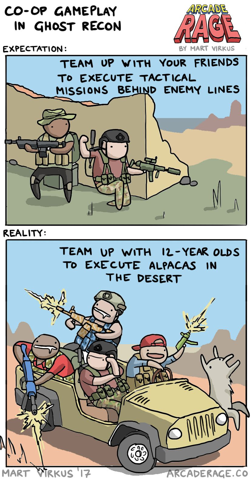 Ghost Recon Wildlands multiplayer expectations vs