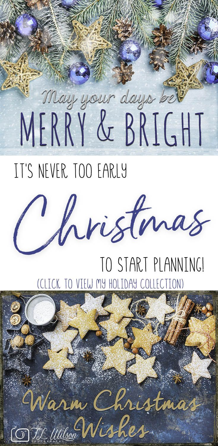 It\'s never too early to start planning for Christmas! View my ...