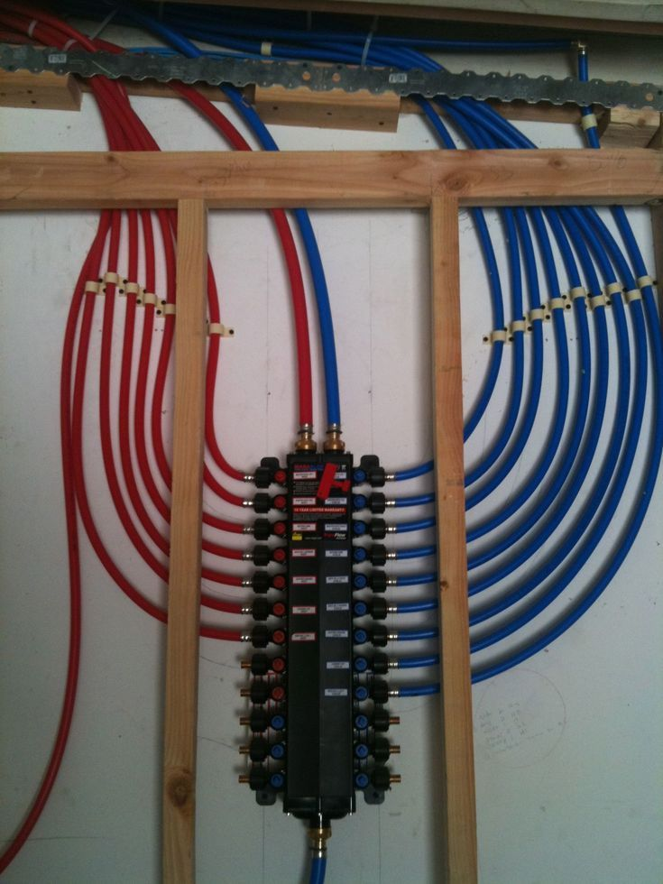 Pex tubing and manifolds a good hedge against high copper