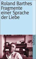 Fragmente einer Sprache der Liebe - Roland Barthes - 9783518380864