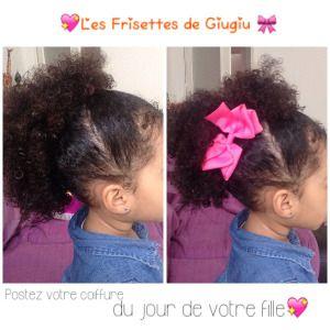 Idée de coiffure de pour enfant métis Natural Hair Kid
