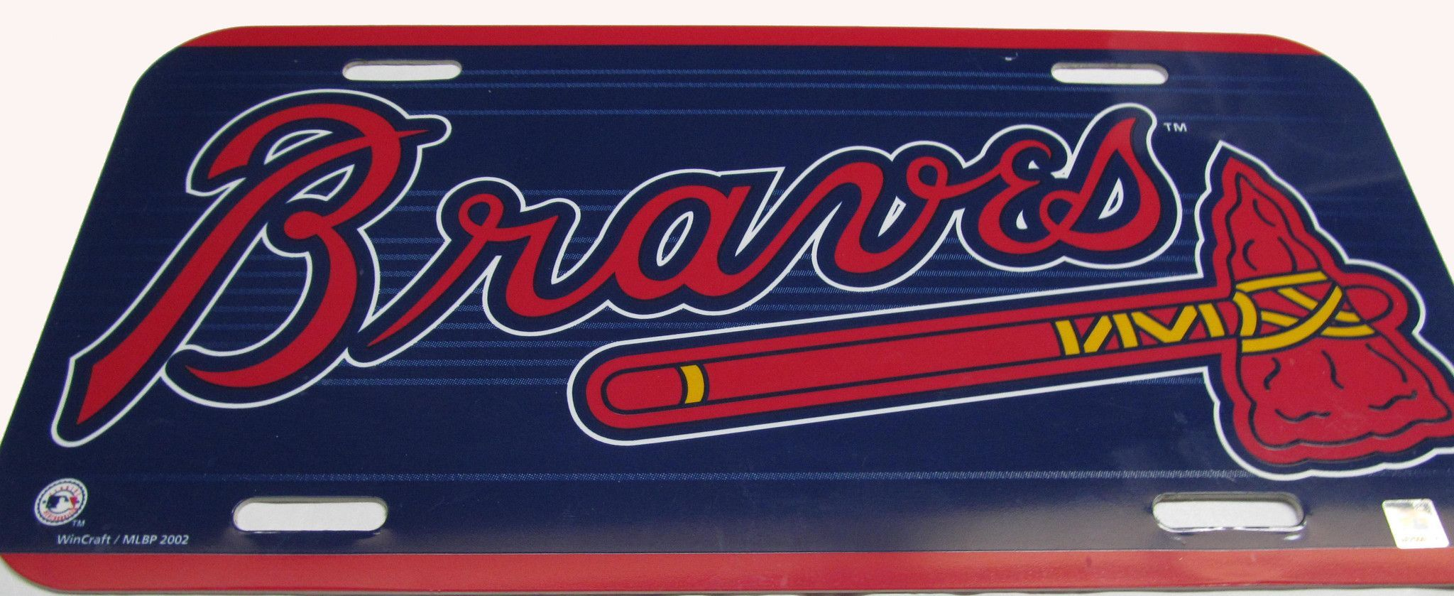 Atlanta Braves License Plate Braves License Plate Atlanta Braves Braves