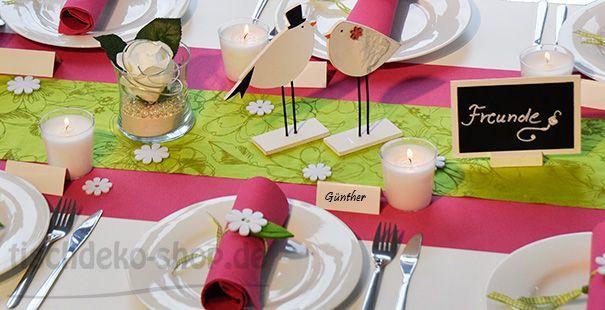 Eine Frohlich Bunte Tischdeko Zum Kindergeburtstag Tischdeko