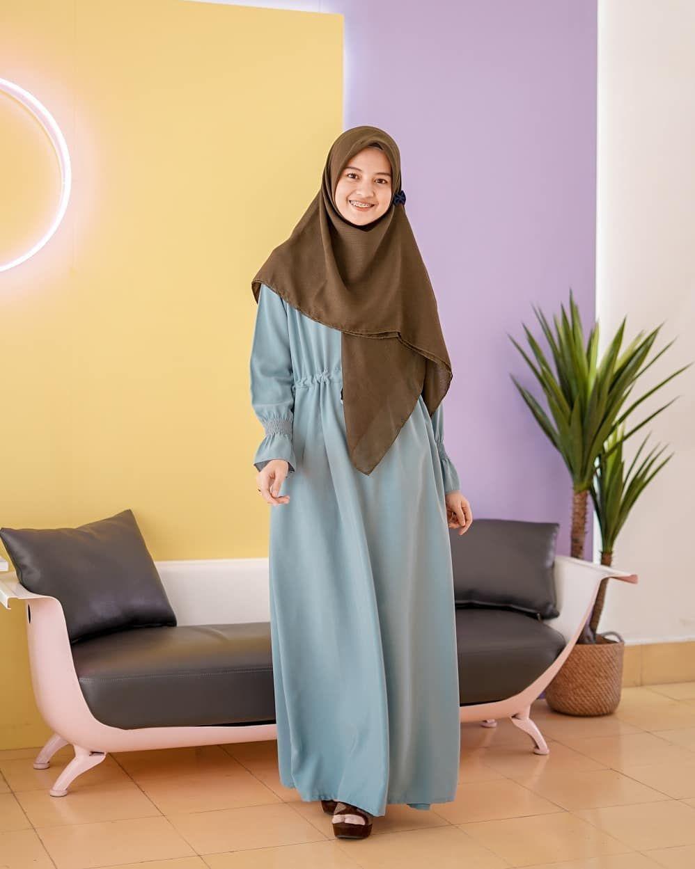 Pin oleh Princess di Hijab and background  Model pakaian hijab