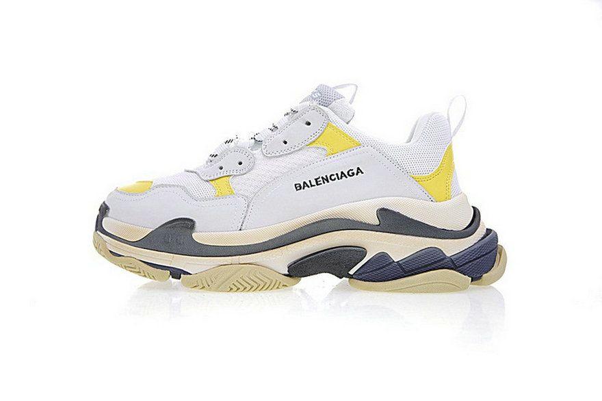 248479e6aa6b Dsm X Balenciaga Triple S White Yellow Black 483513W06E37073 x sneaker  Sneaker
