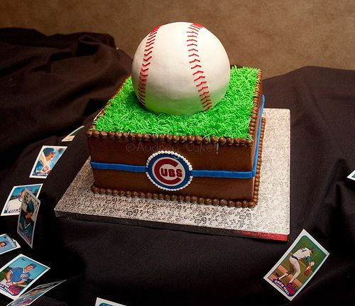 Baseball Wedding Cake Ideas