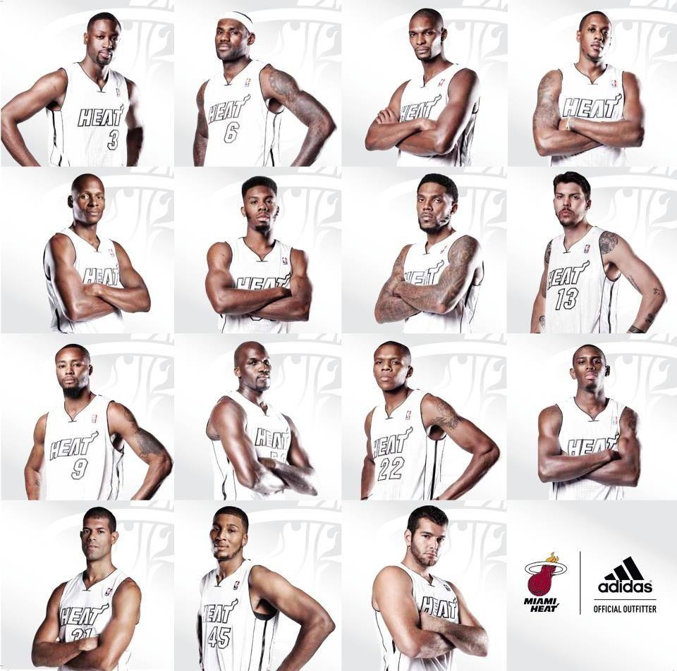 Miami Heat Roster Nba Miami Heat Miami Heat Heat Team