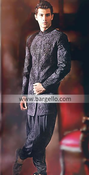 426abd46d Style M635 Color: Pale Taupe Fabric: Jamawar Elegant looking Pakistani  Indian Ethnic Haute Couture