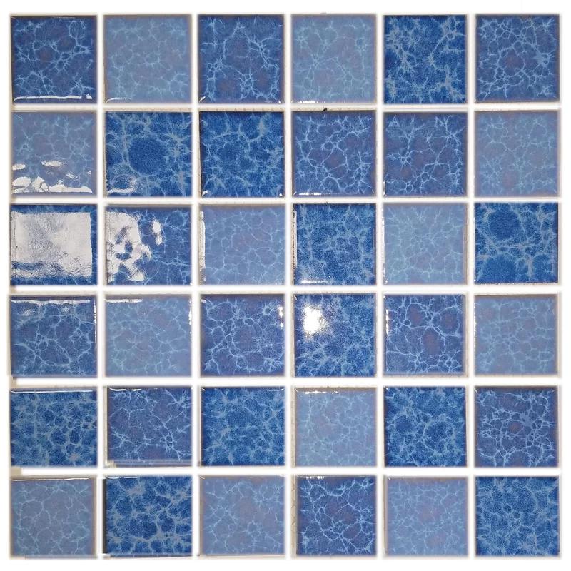 Monet 2 X 2 Porcelain Mosaic Tile Porcelain Mosaic Porcelain Mosaic Tile Mosaic Wall Tiles