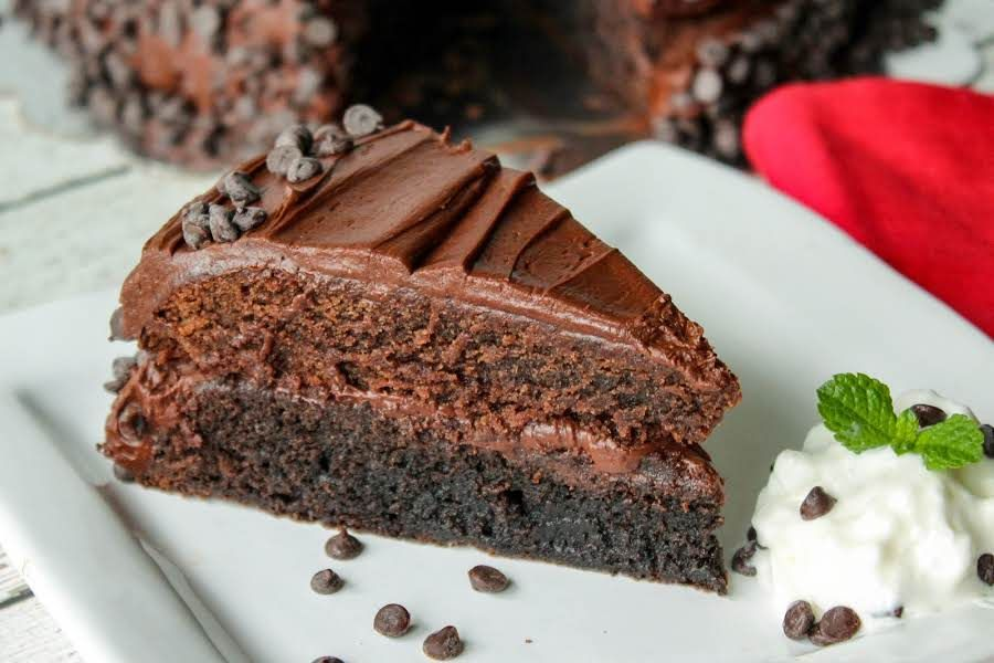 Dark Milk Chocolate Brownie Layer Cake Recipe Dark Brownies
