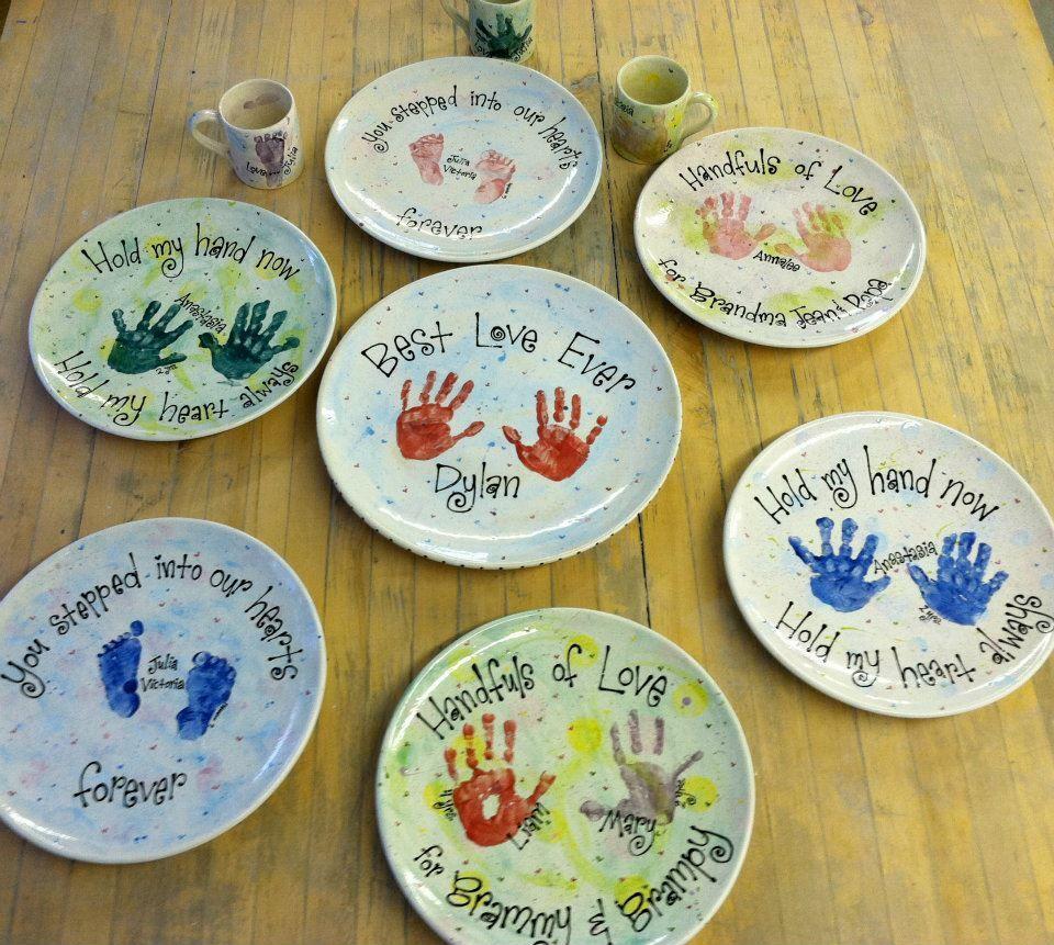 Hand & Footprint plates