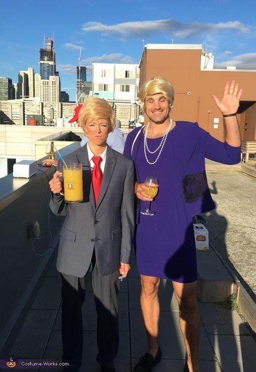 Ms Trump  Mr Hilary - Halloween Costume Contest at Costume-Works - cheap funny halloween costume ideas
