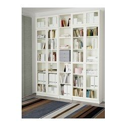 Billy Oxberg Bookcase White 78 3 4x93 1 4x11 Home Library Home White Bookcase