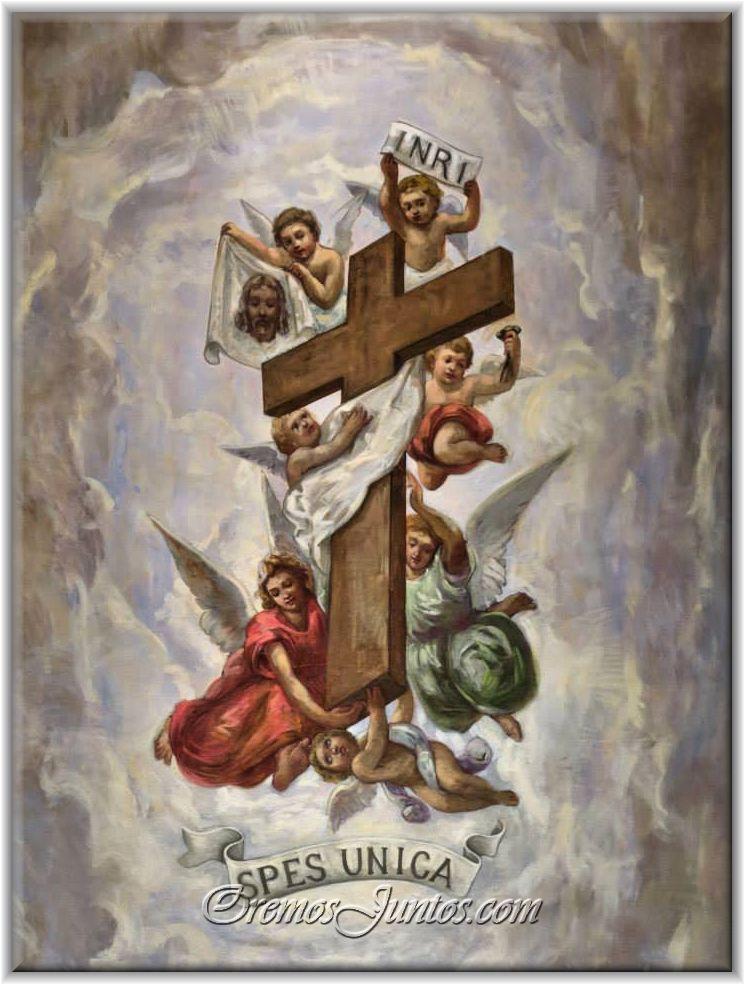 La exaltación de la Santa Cruz | Arte católica, Igreja catolica ...