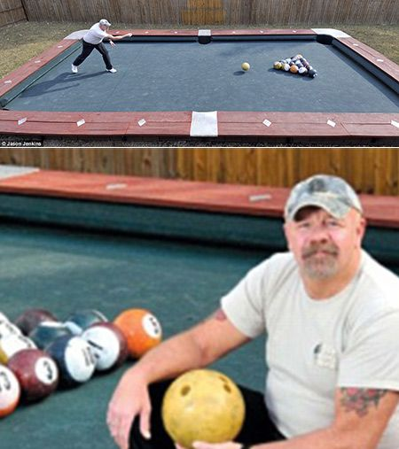 Imgur The Simple Image Sharer FUN STUFF Pinterest Pool Table - Huge pool table