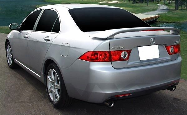 2004 2008 Acura Tsx Spoiler Factory Style Acura Tsx Acura Spoiler