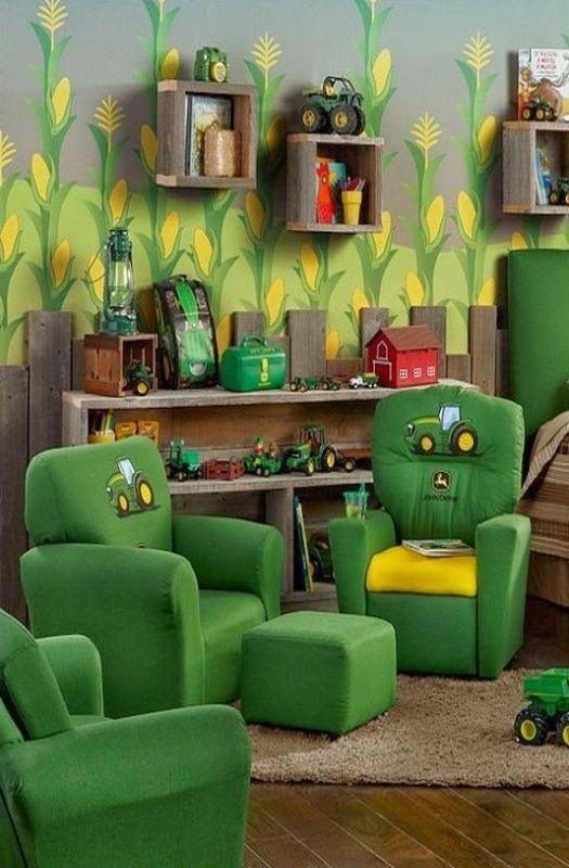 Boys John Deere Bedroom John Deere In 40 Bedroom Themes Farm Stunning Tractor Themed Bedroom