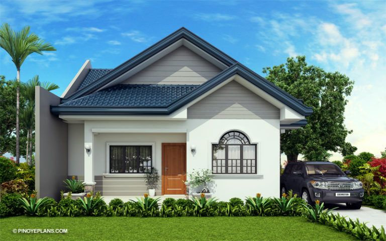 Obani Elegant Yet Affordable One Storey Single Attached Amazing Architecture Ma Simple Bungalow House Designs Cottage House Exterior Affordable House Plans