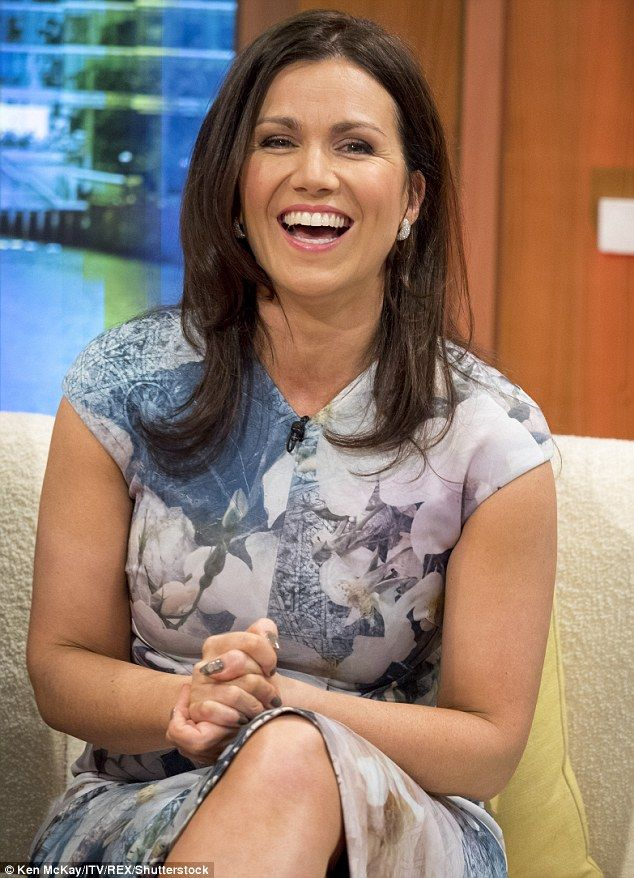 Susanna Reid steals the limelight from Piers Morgan in a floral
