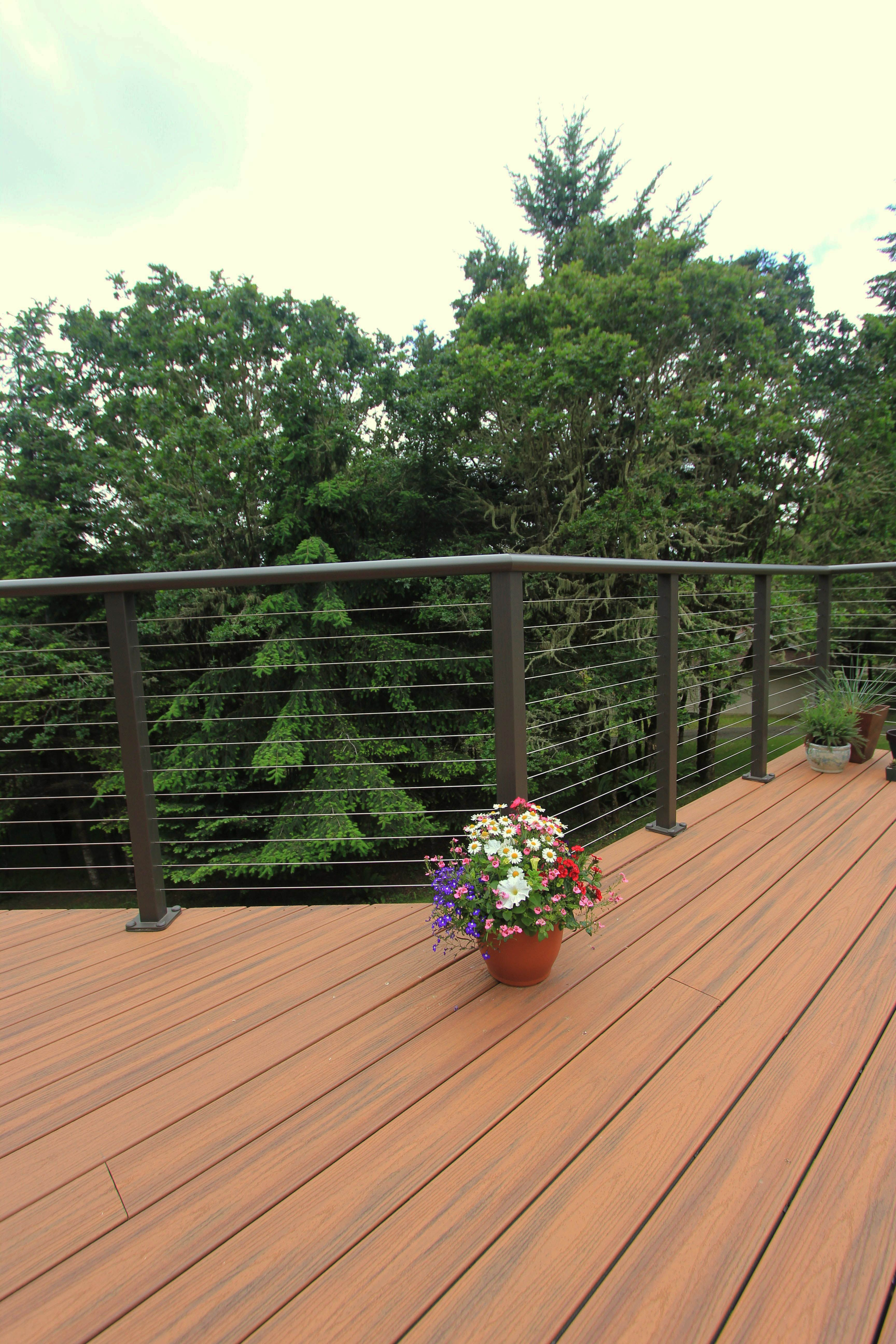 Porch Barrier Tips And Also How To Develop A Deck Railing Building A Deck Outdoor Deck Deck Railings