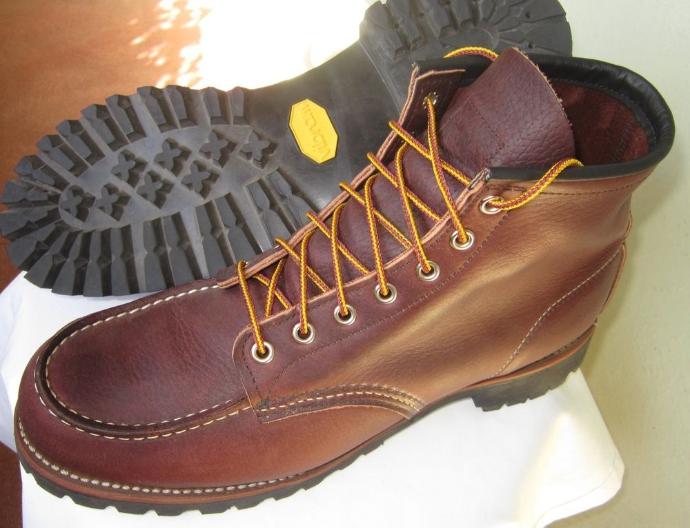 """c759386744e RED WING HERITAGE Men's 8146 Roughneck Moc 6"""" Boot Size 11.5 D ..."""