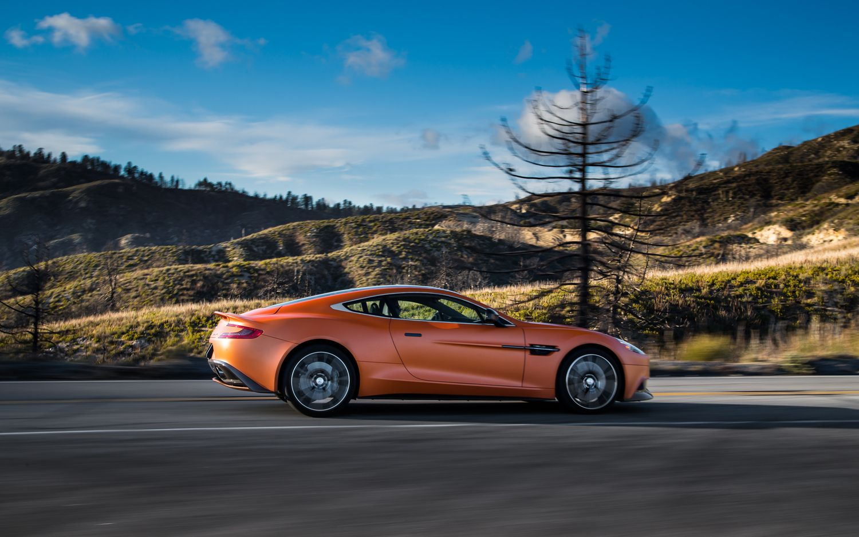 supercar showcase: 2014 aston martin vanquish centenary edition