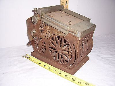 Antique Cast Iron General Store Sales Receipt Machine Cash - cash sales slip