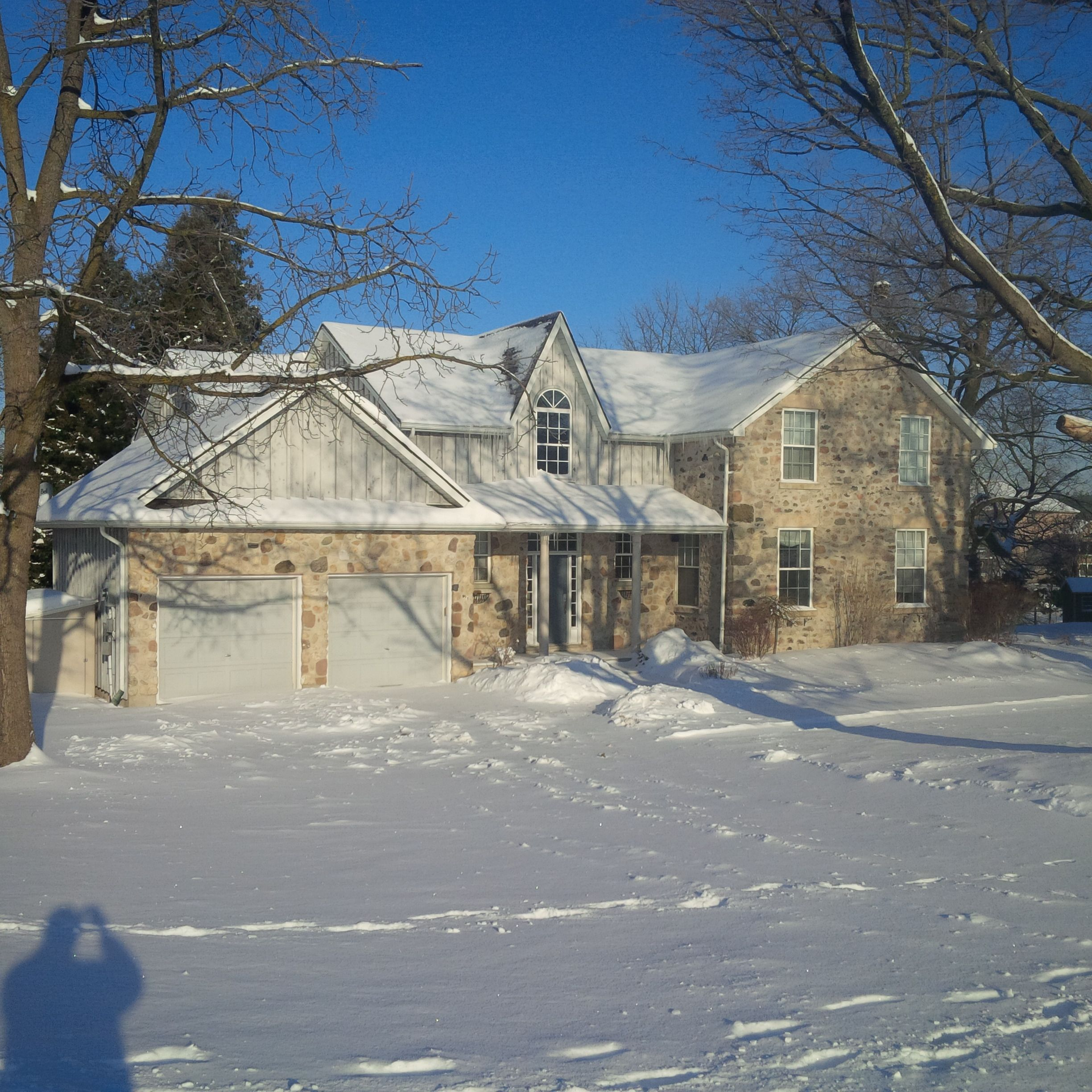 Spacious 5 bedroom, private home available Feb 1 at 1 Coopers Crt, Guelph. Century stone home with modern finishes. Located on 1/2 an acre property on south end. Attached double car garage & oversized deck surrounding the beautiful landscaping in the backyard. Natural gas heating, gas fireplace, front loading laundry machines included. Unit is available for $2800 plus util. To set up a time to see the unit, please contact Inspirah Rental Management at 519-515-0411 option 2.