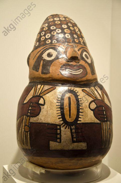 Ceramic vessel, erotic art Nazca culture 100 AC–800 AC Perú
