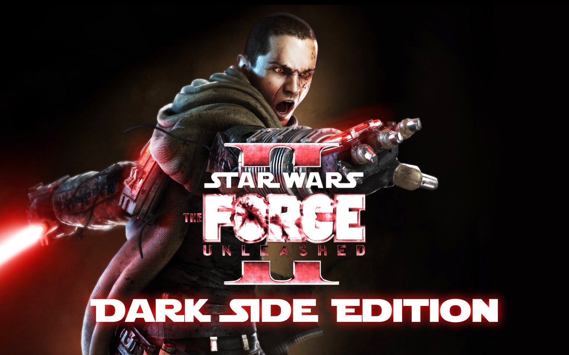 star wars: force unleashed 2 (dark side edition) game movie 1080p (+