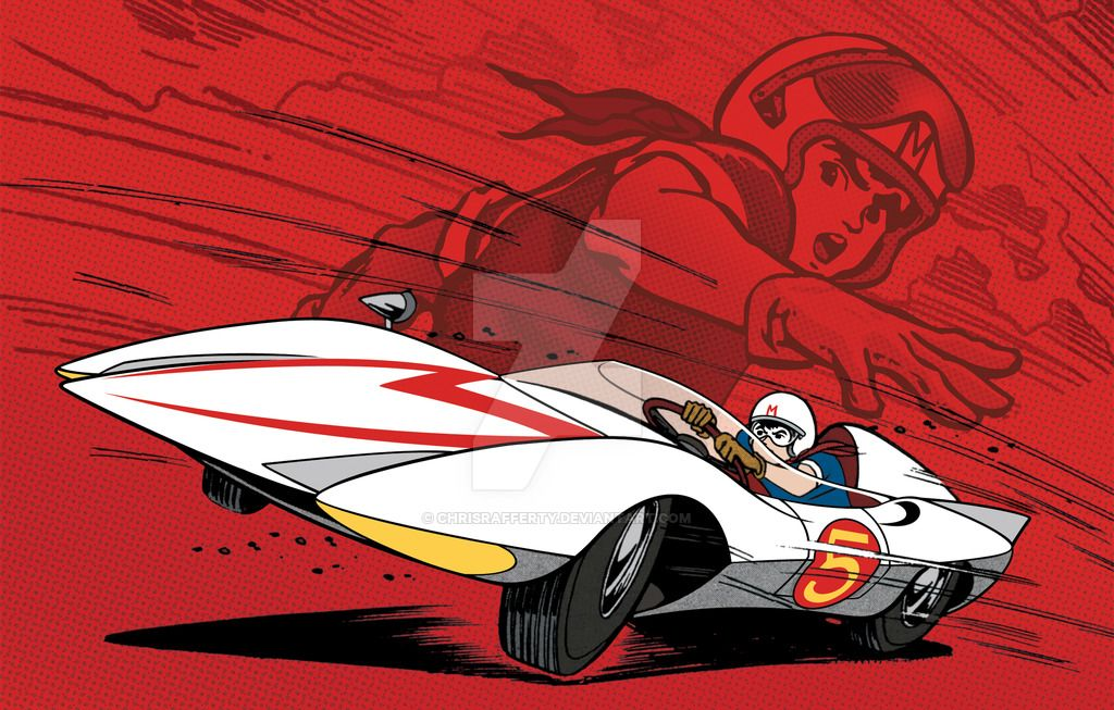 """Created this artwork for the """"Speed Racer Complete Classic"""