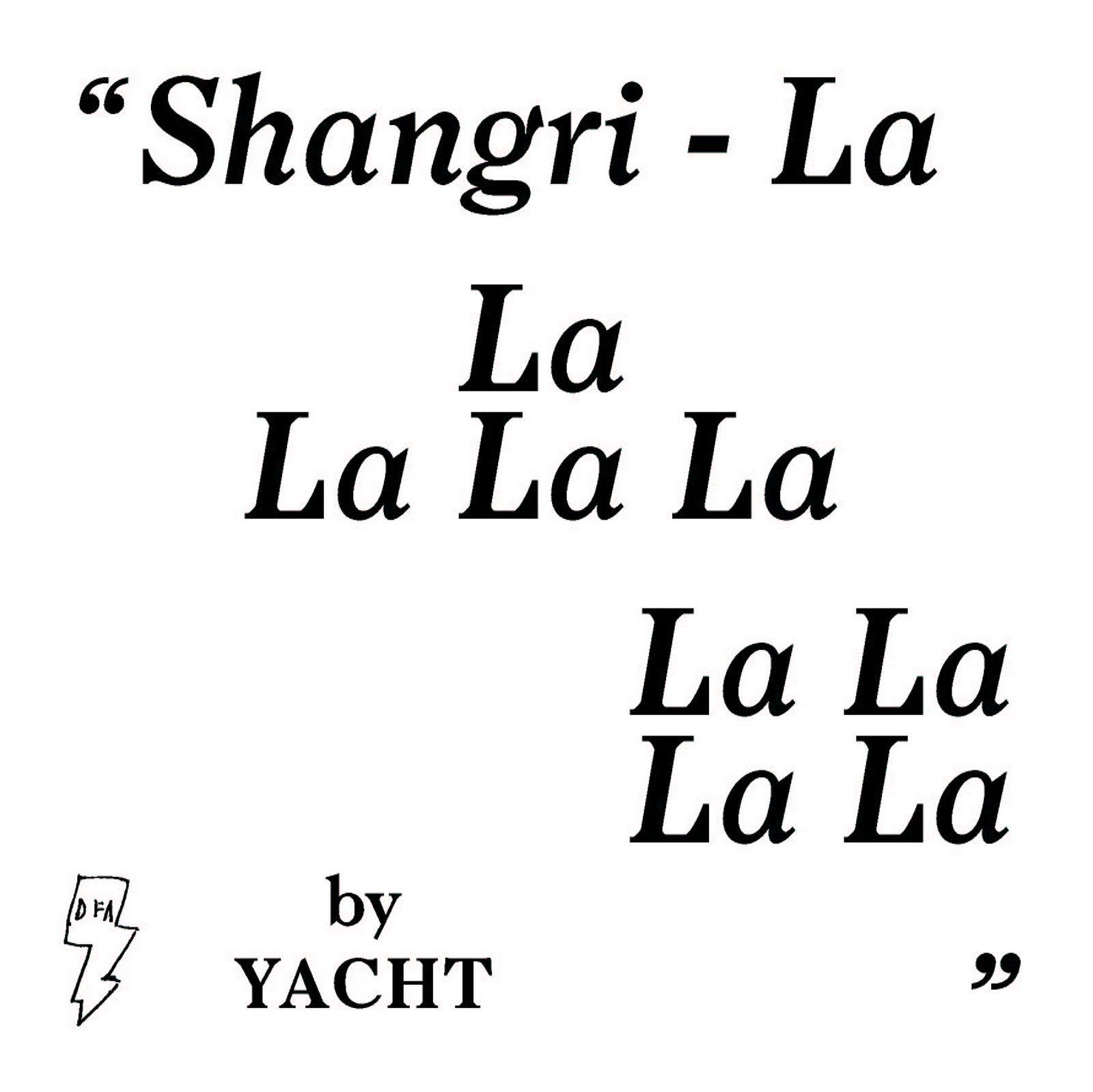 shangri lalala