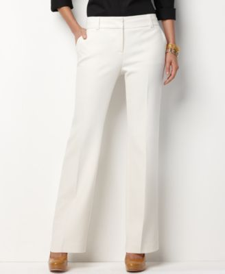 4403bacd Charter Club Women Winter White Dress Pants Slim Leg Size 12 Retail ...