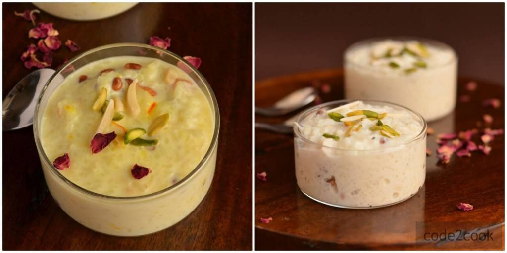 Rice Kheer Recipe | Indian Rice Pudding | How To Make Rice ...