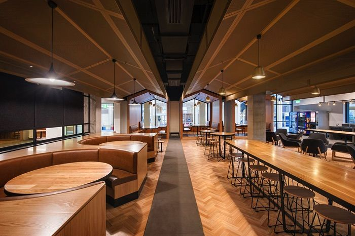 Uni SA Student Lounge Workplace Pinterest Architecture awards
