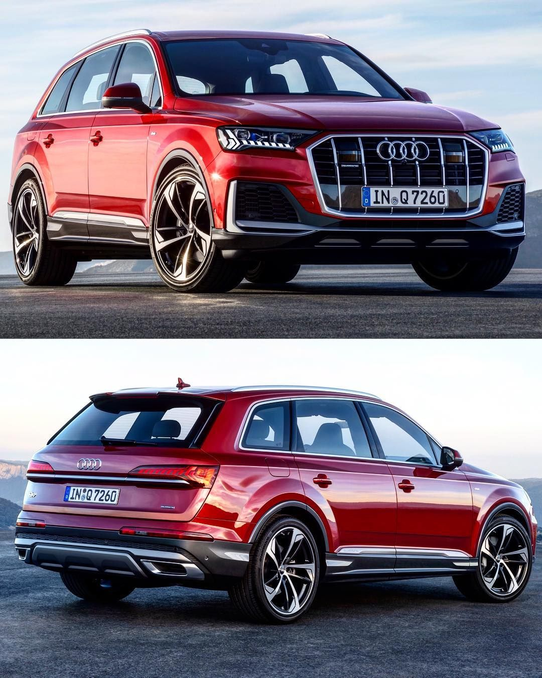 100 Audi Passion On Instagram 2020 Q7 Facelift Audi Just Revealed The Long Awaited Facelift For The Large Q7 And It Looks Stunni Audi Luxury Suv Audi Q7