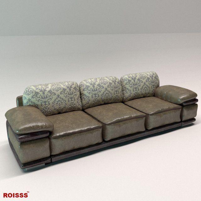 Sofa richmond 1 Roisss Interior Design 3D 3D Model .max ...