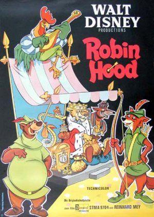 Robin Hood Poster Disney Movie Posters Films Film Posters Robin