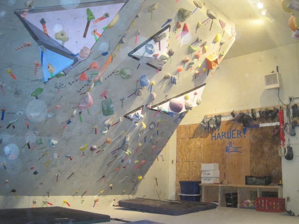 find this pin and more on homemade climbing wall - Home Climbing Wall Designs