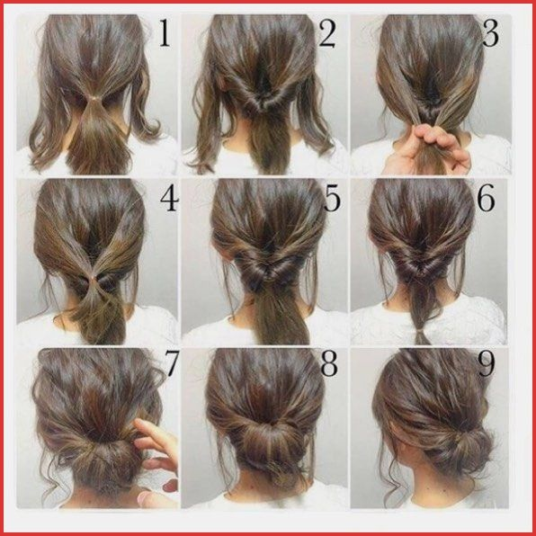 Easy Hairstyles For Medium Length Thick Hair Easy Hairstyles For Medium Length Thick Hair 52444 Short Hair Styles Easy Diy Hairstyles Simple Wedding Hairstyles