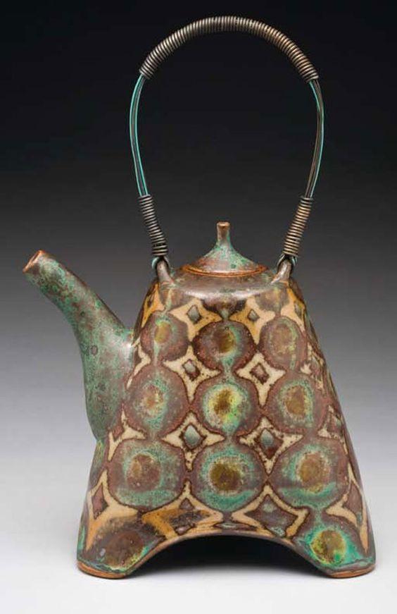 Geometric Pattern Teapot