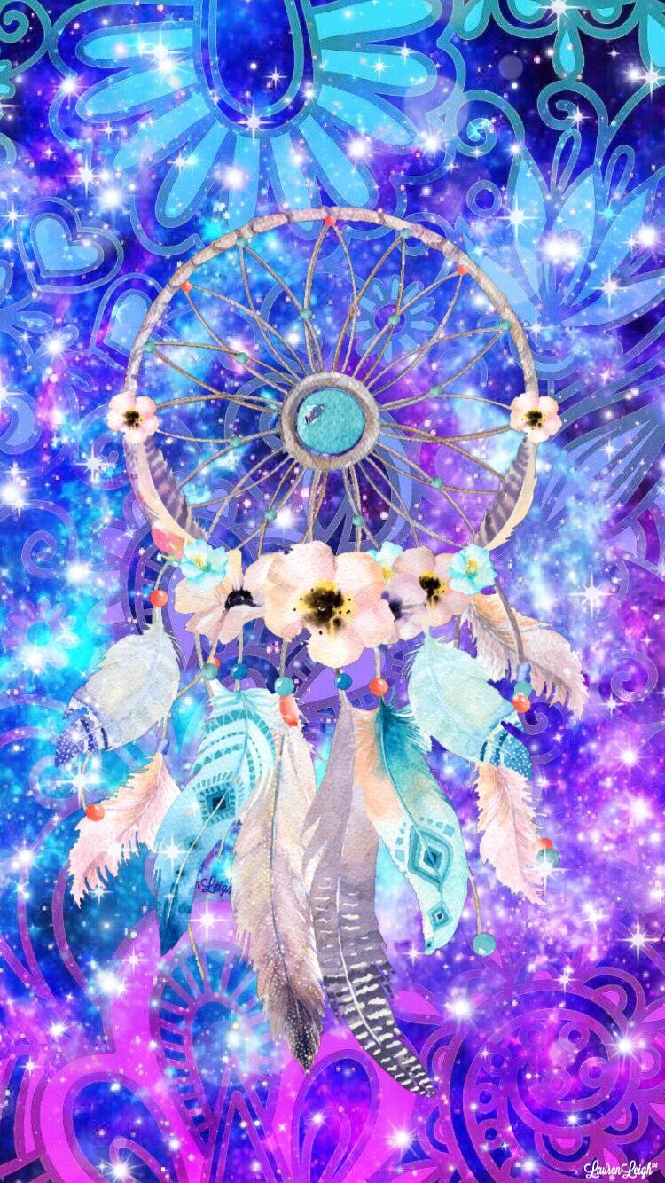 #Dreamcatcher #galaxy #sparkles #art #girly #pretty #cute ...