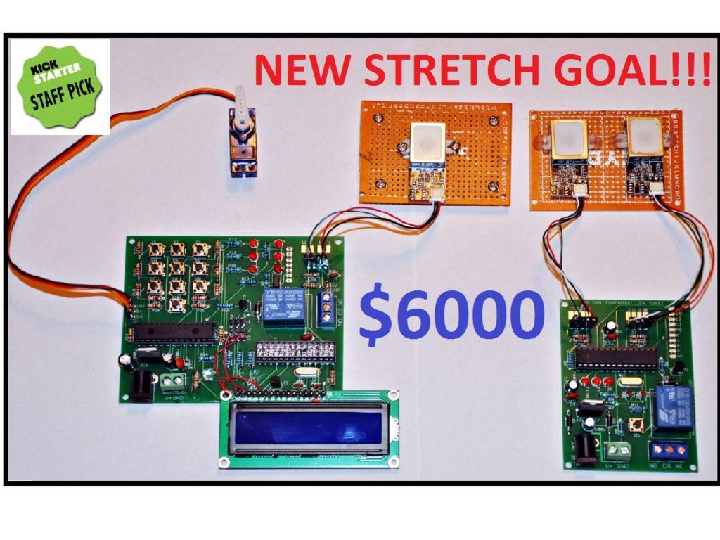 Arduino Compatible Fingerprint Scanner Project Boards