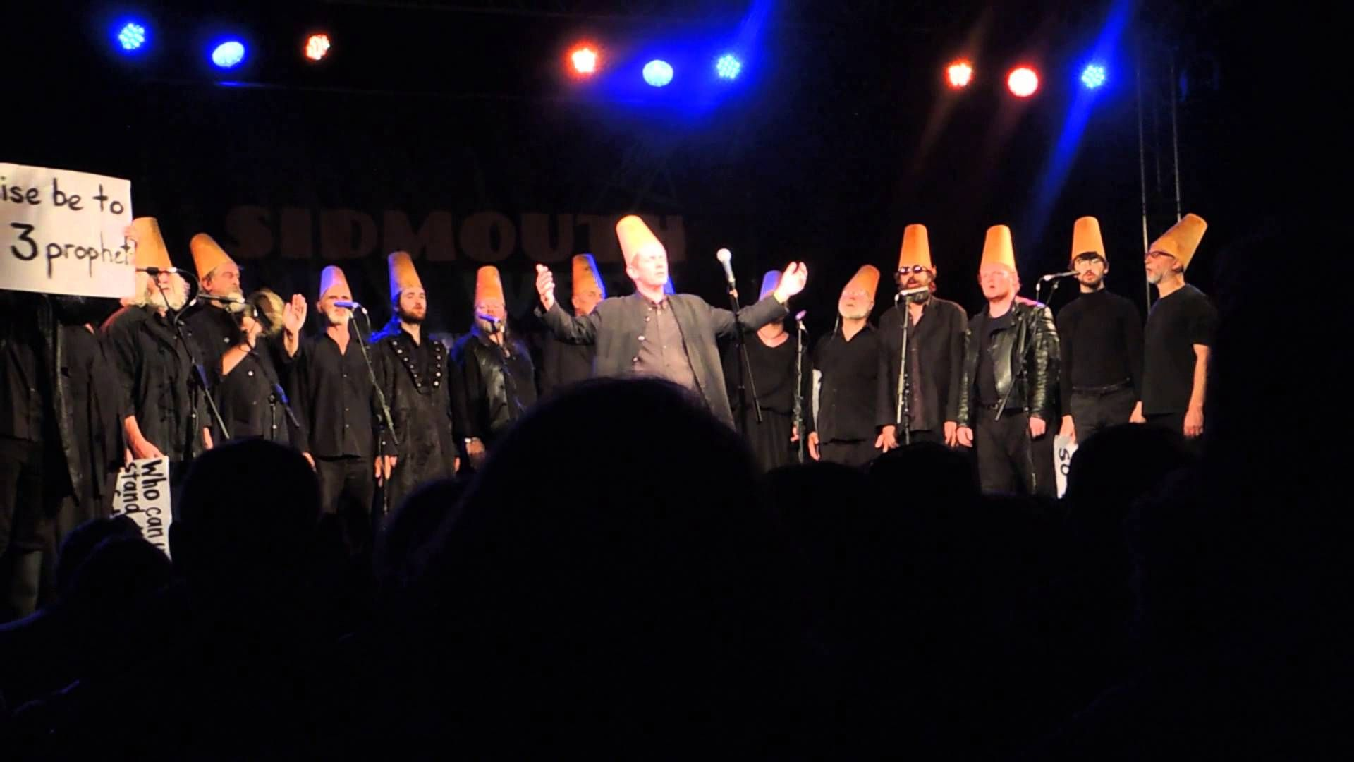2 Funny ! ;-) Spooky Men's Chorale sing Ba'hari Ghibb (described as a 13th century Sufi prophecy.)