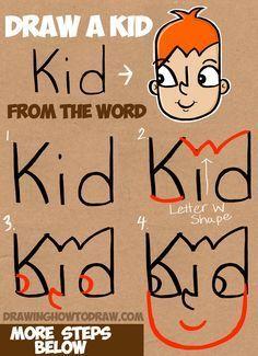 Resultado De Imagen Para Dibujos De La Palabra Boy Lecciones De Arte Como Dibujar Facil Dibujo Paso A Paso