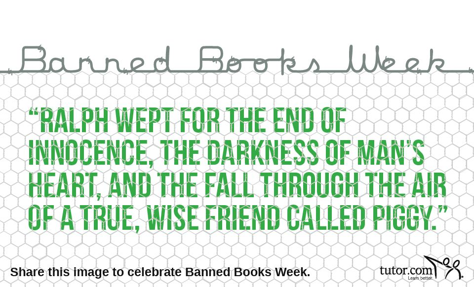 Quotes From Lord Of The Flies Glamorous Celebrating #bannedbooksweek With Lord Of The Flies  Book Worm . Review