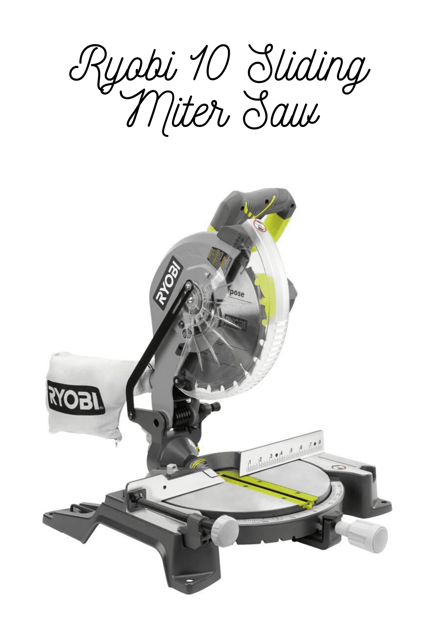 How To Have A Fantastic Ryobi Compound Miter Saw With Minimal Spending In 2020 Compound Mitre Saw Miter Saw Mitered
